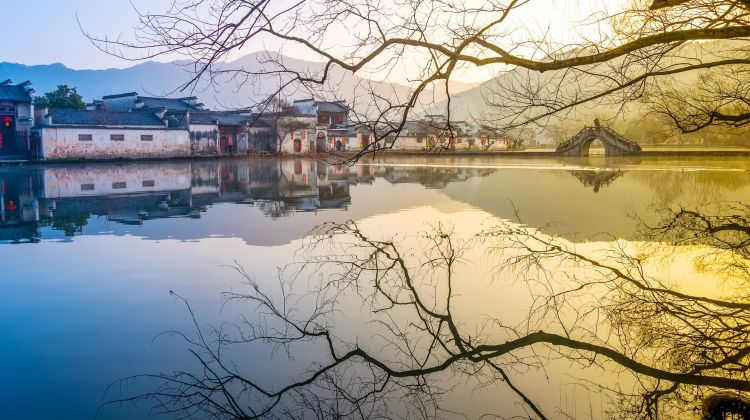 Half Day Group Tour to Hongcun Village from Huangshan