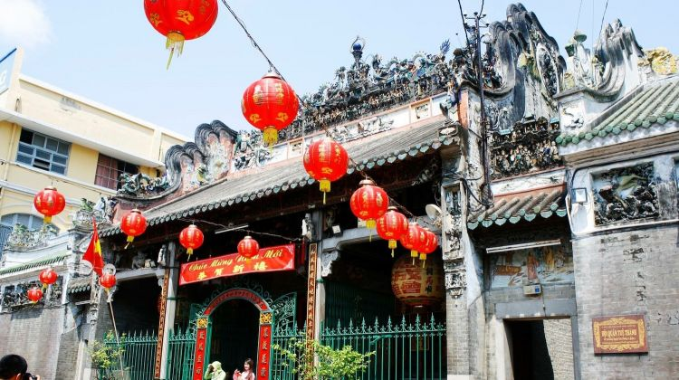Half-Day Ho Chi Minh City China Town Tour By Cyclo