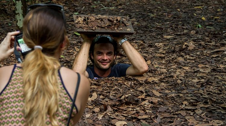 Half-day tour: cu chi tunnels