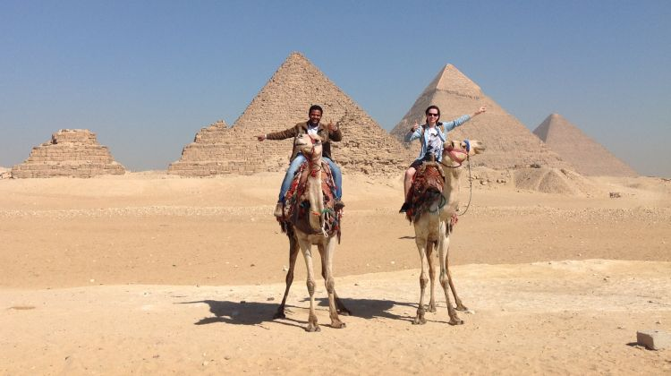 Half day Tour to Giza Pyramids by Camel