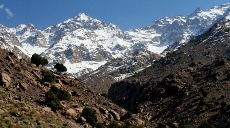 [High Atlas and Mount Toubkal