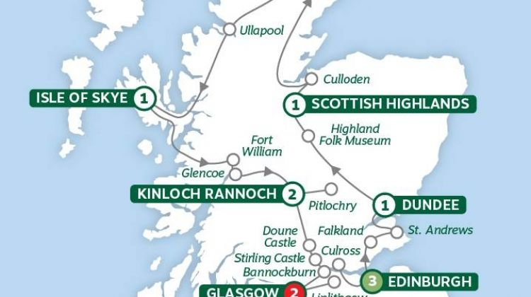 Highland Trail inspired by Outlander