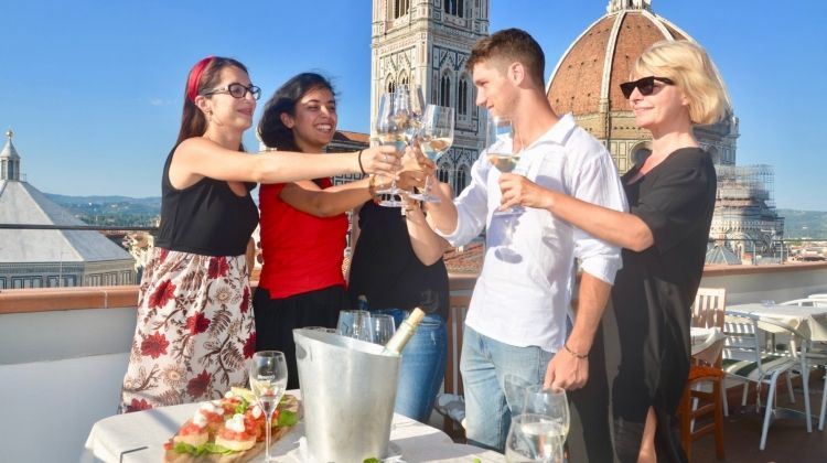 History of Florence Walking Tour with an Aperitivo