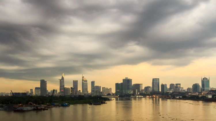 Ho Chi Minh city by Speedboat