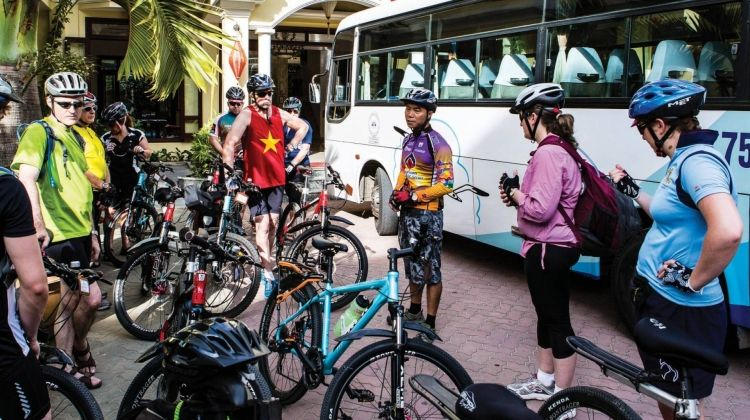 Ho Chi Minh to Angkor Wat Cycle