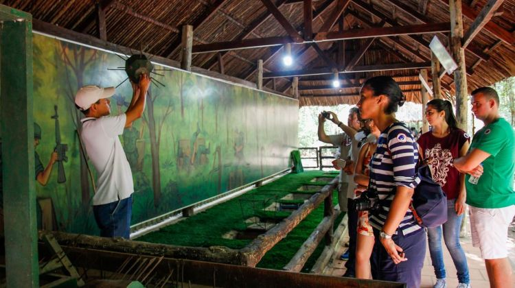 Ho Chi Minh Tour with Cu Chi Tunnels from Sai Gon Port