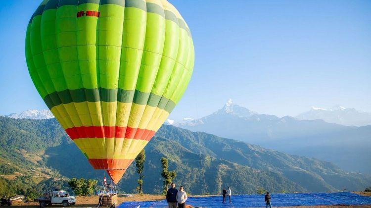 Hot Air Balloon & Bungee Combo