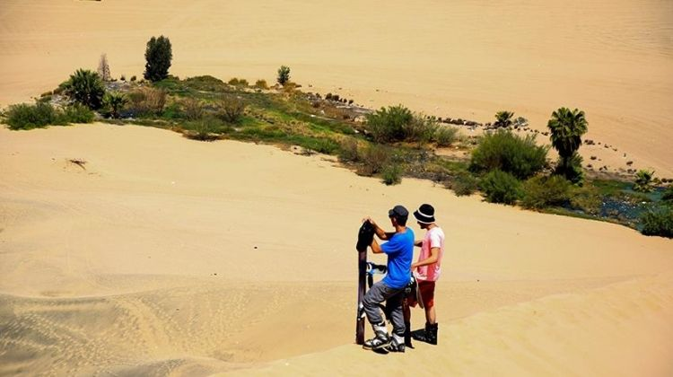 Huacachina Sand-Buggy & Sand-Boarding