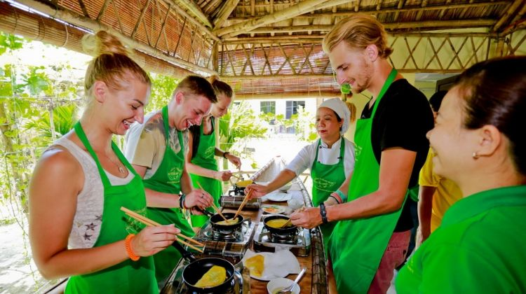 Hue Cooking Class by motorbike