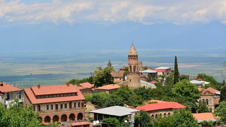 Ilia Lake & Signaghi From Tbilisi