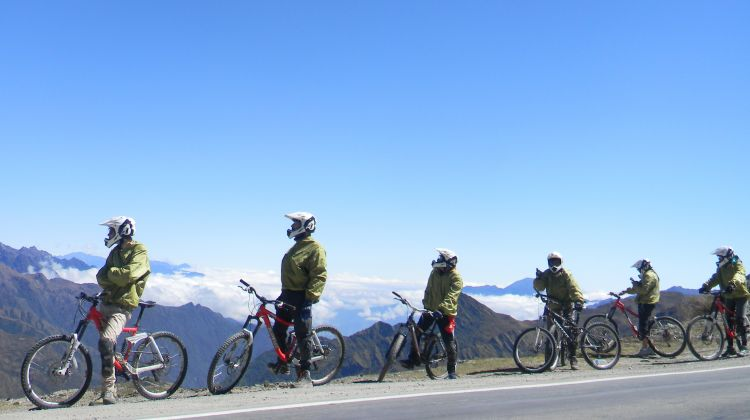 Inca Jungle trail to Machu Picchu: Biking and Hiking