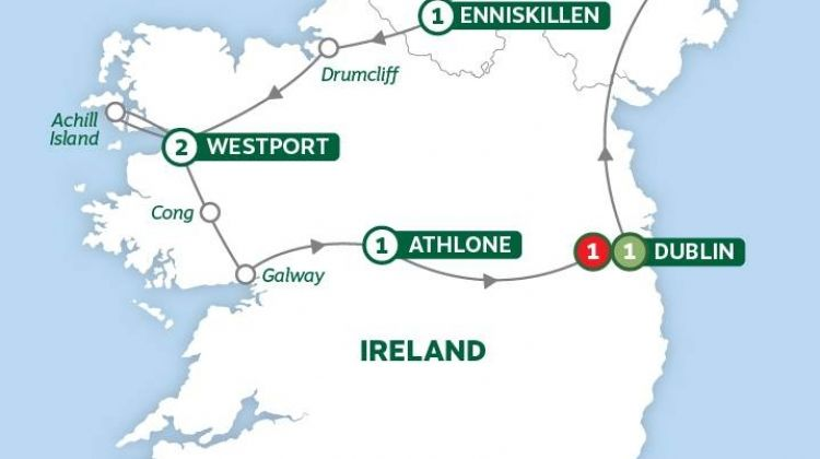 Irelands Legendary North