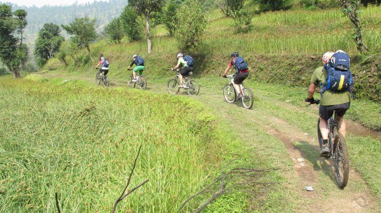 Kathmandu Valley Single Track Mountain Biking