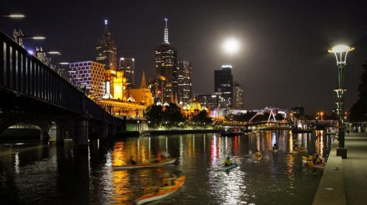Kayak By Night