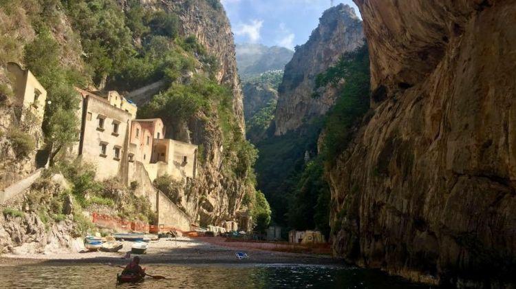 Kayaking along the world's most beautiful coast