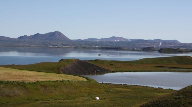 Lake Myvatn and Godafoss Short Tour
