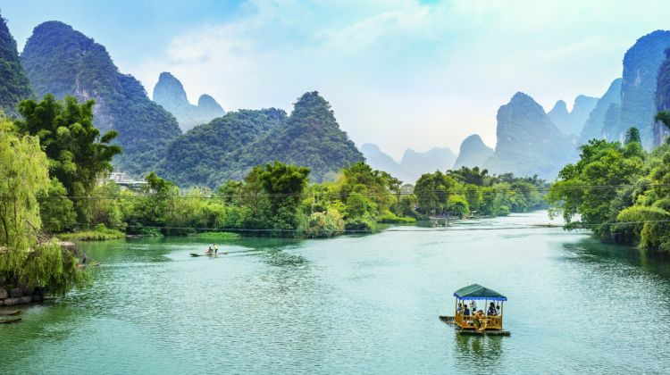 Li River Cruise and Reed Flute Cave