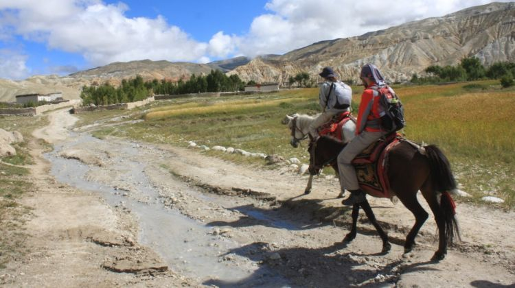 Magical Upper Mustang trek