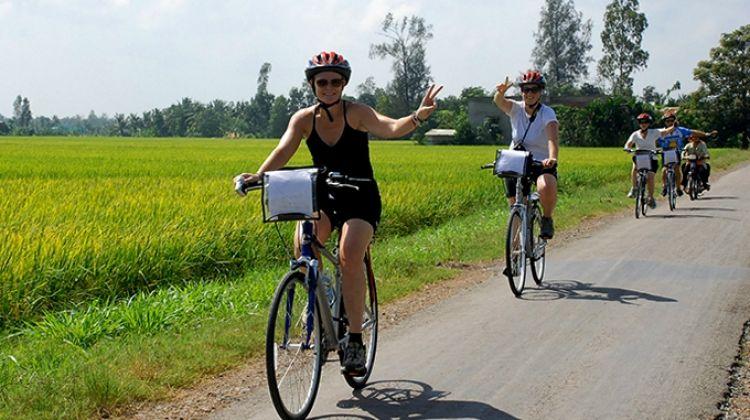 Mekong Delta: Kayak, Boat, Bike & Market from Ho Chi Minh