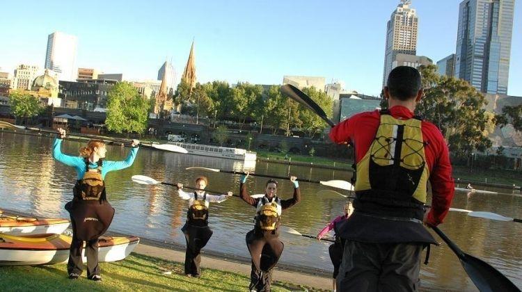 Melbournes City Kayak Tour