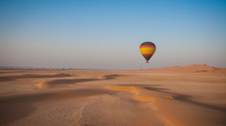 Moonlight Safari with Sunrise Hot Air Balloon From Dubai