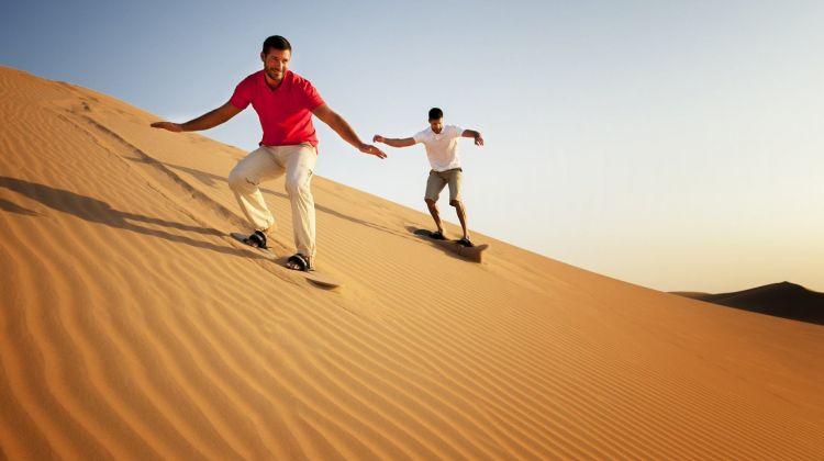 Morning Desert Safari from Abu Dhabi