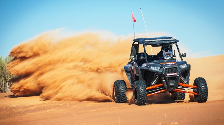Morning Dune Buggy Adventure with Arabic Breakfast