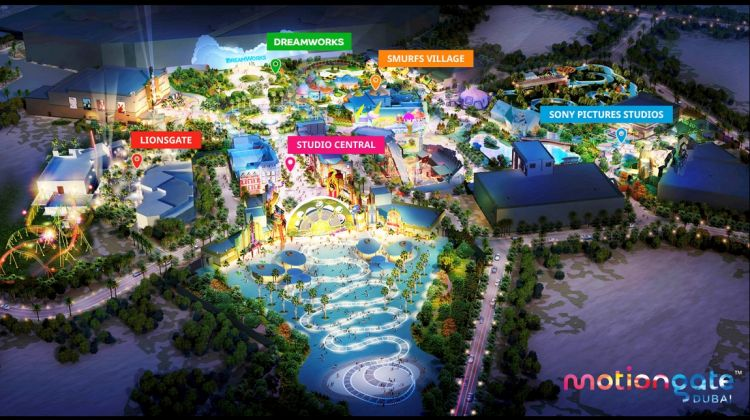 Motiongate Dubai 1 Day pass