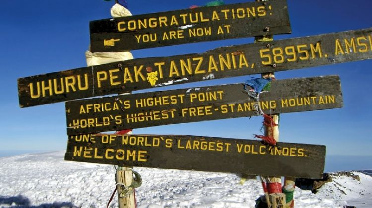 Mount Kilimanjaro Climbing Machame Route Climb 2021