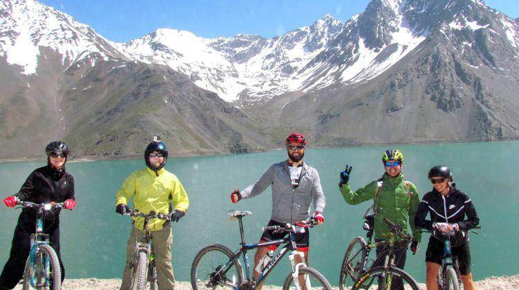 Mountain Bike Tour Embalse el Yeso