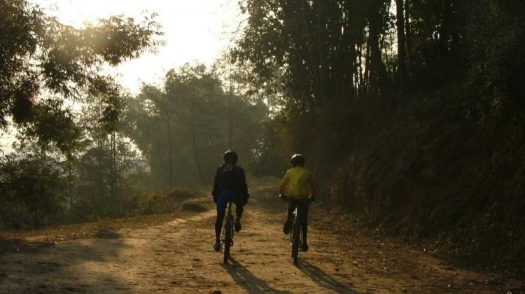 Mountain Biking Adventures on the Outskirts of Kathmandu