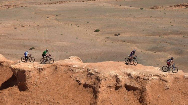 Mountain Biking the Gobi