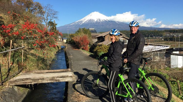 Mt Fuji Satoyama Village Cycling Ecotour