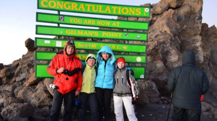 Mt Kilimanjaro Machame Route 7 days 6 nights