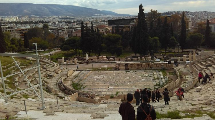Mythology Walking Tour of Athens with Coffee