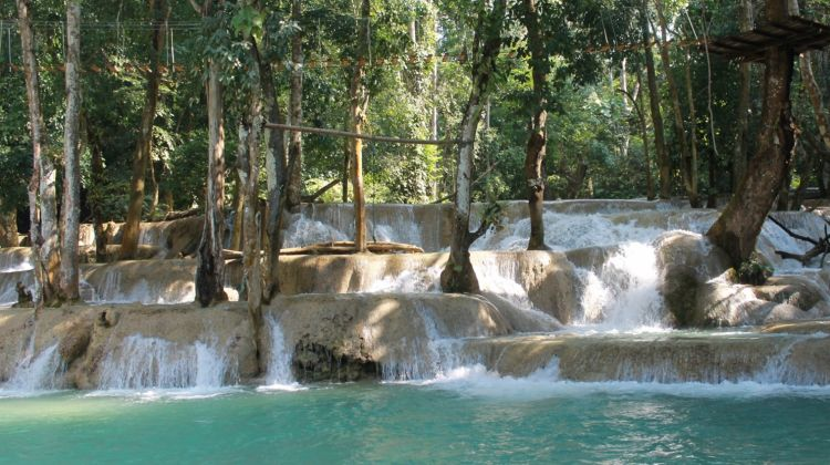 Nam Khan River Kayaking and Tad Sae Waterfall - Full Day