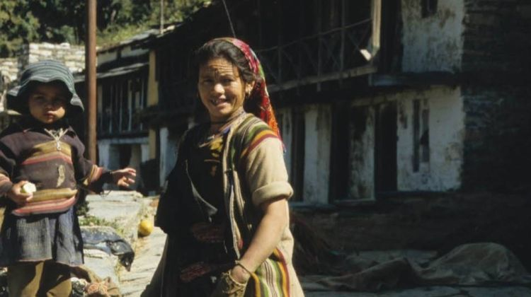 Nanda Devi Alpine with Garry Weare