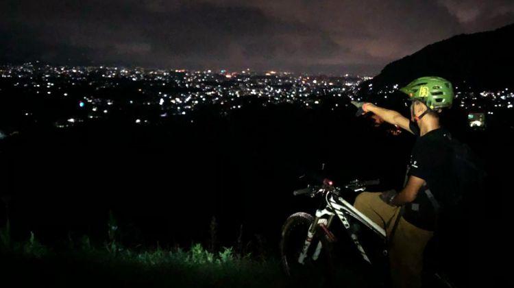 Night Ride In Kathmandu
