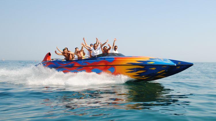 Ocean Rocket Boat Ride