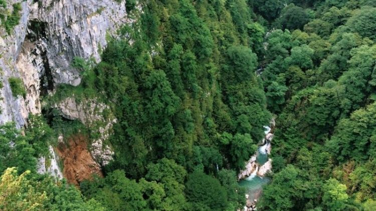 Okatse and Martvili Canyons