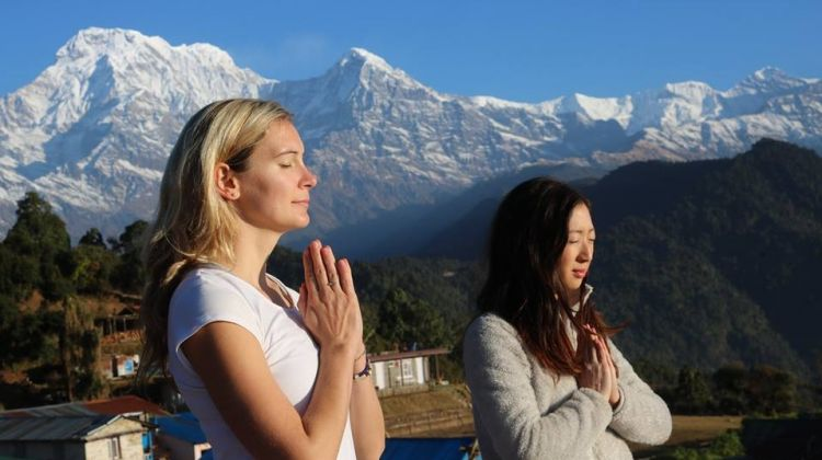 One Day Yoga & Meditation Retreat in Nepal