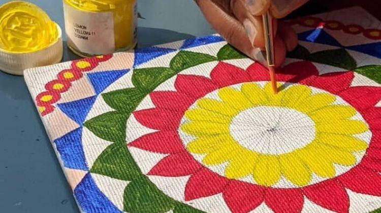 Online Delhi Experience for Families: Mandala Art & Meditation Class