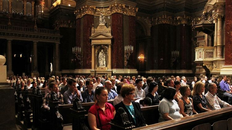 Organ concert in St. Stephens Basilica