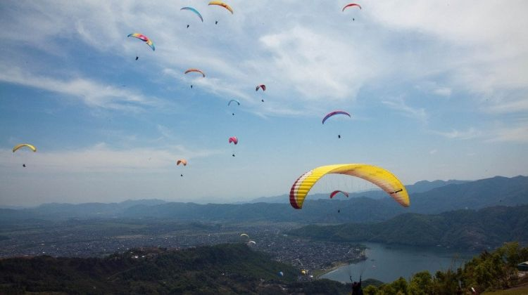 Paragliding & Bungee Combo