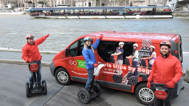 Paris Segway Trip and Boat Tour on the Seine