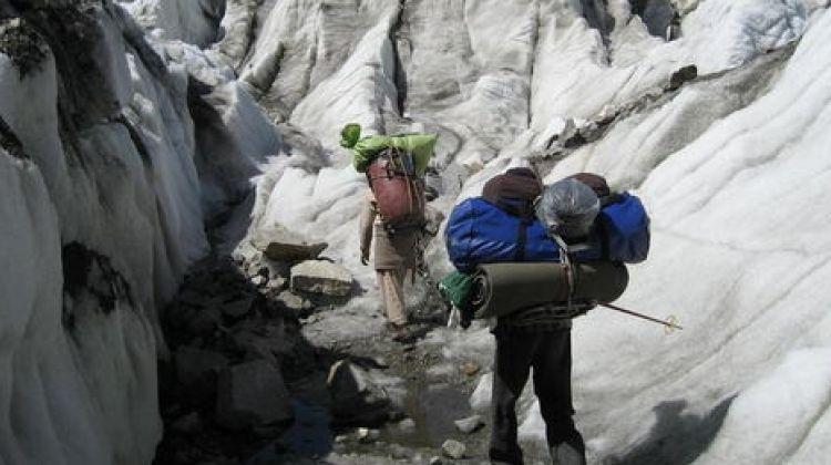 Patundass/shishper base camp trek