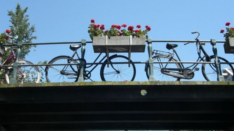 Peddling Pretty In Amsterdam