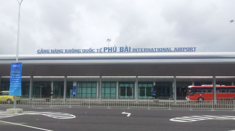 Phu bai airport transfer to Hue city