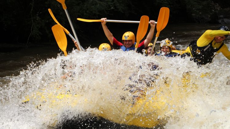 Phuket Adventure: Rafting and Zipline