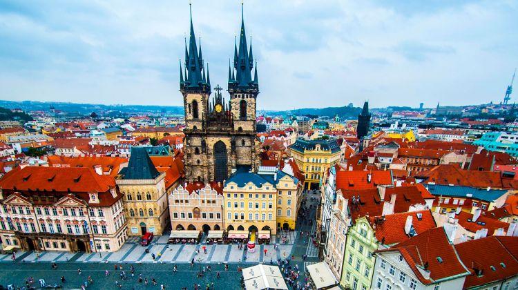 Prague castle tour on Segway